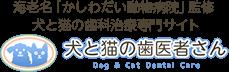 犬と猫の歯医者さん